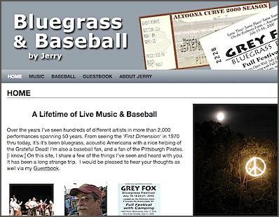 Bluegrass and Baseball