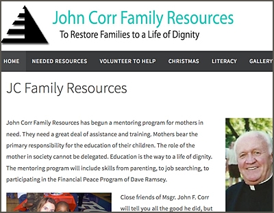 John Corr Family Resources